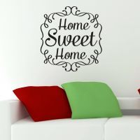 Wallstickers - Home Sweet Home - NiceWall.dk