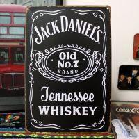 Emaljeskilt Jack Daniel's Old no. 7 - NiceWall.dk
