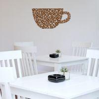 Wallsticker Kaffekop - NiceWall.dk