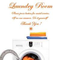 Wallsticker Laundry Room Do it Yourself! - NiceWall.dk