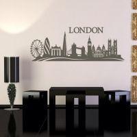 Wallsticker London skyline - NiceWall.dk