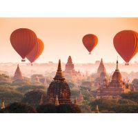 Luftballoner over Myanmar - Foto tapet - Foto stat