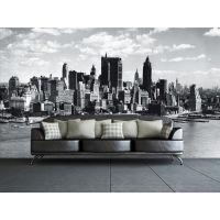 Fototapet med New York skyline - NiceWall.dk