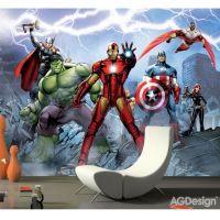 Avengers Fototapet - Fotostat med Avengers fra Marvel