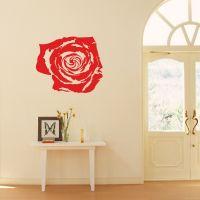 Wallsticker Smuk Rose - NiceWall.dk