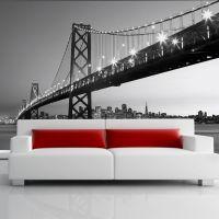 San Francisco Skyline - Foto tapet - Foto stat