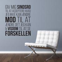 Sindsrobønnen - wallsticker fra NiceWall.dk