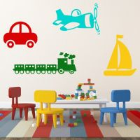 Wallsticker Transport Tema - NiceWall.dk