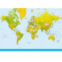 World Map - Foto tapet - Foto stat