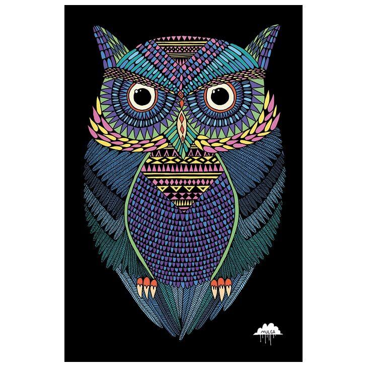 Plakat: Den magiske ugle