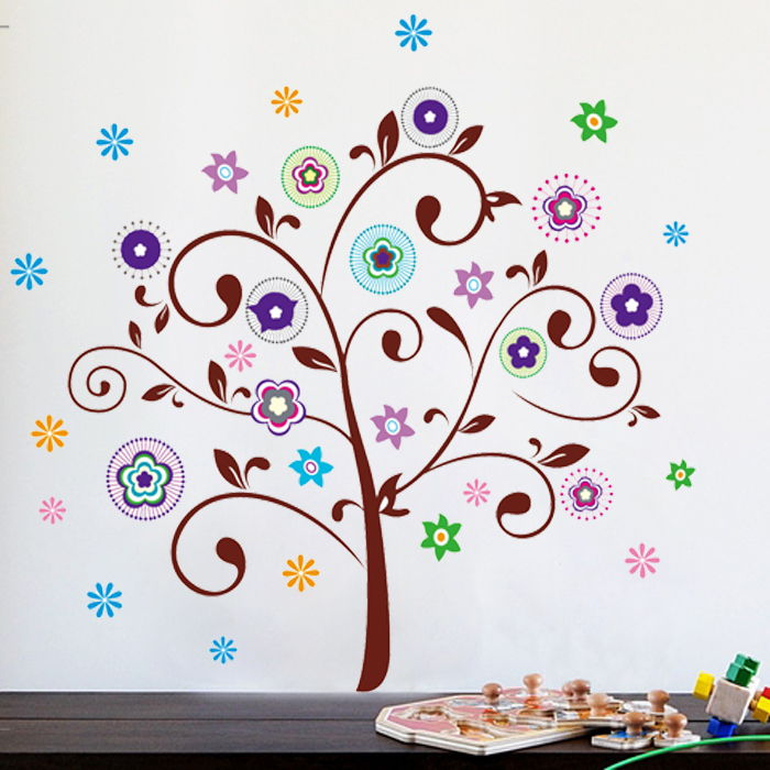 Wallsticker Eventyrtræ
