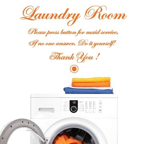 Wallsticker Laundry Room Do it Yourself