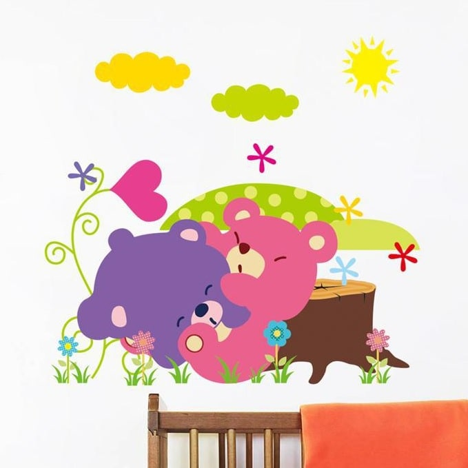 Wallstickers til Baby