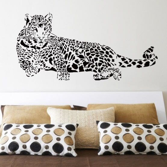 Wallsticker Leopard