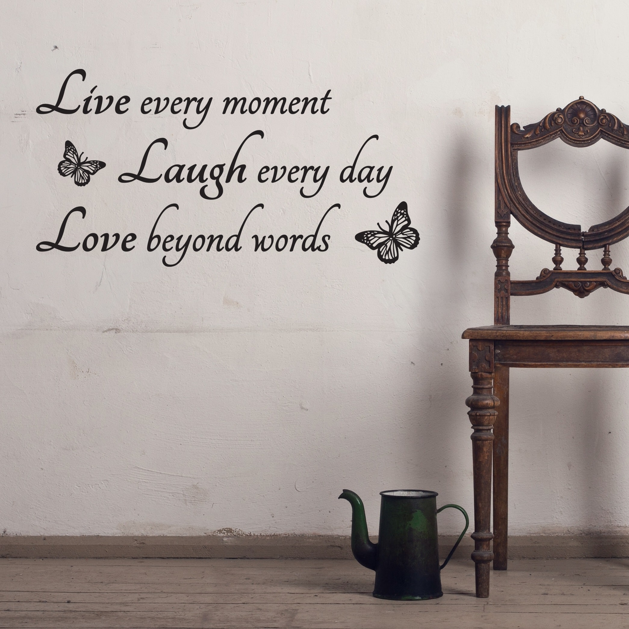Wallsticker Live Laugh Love