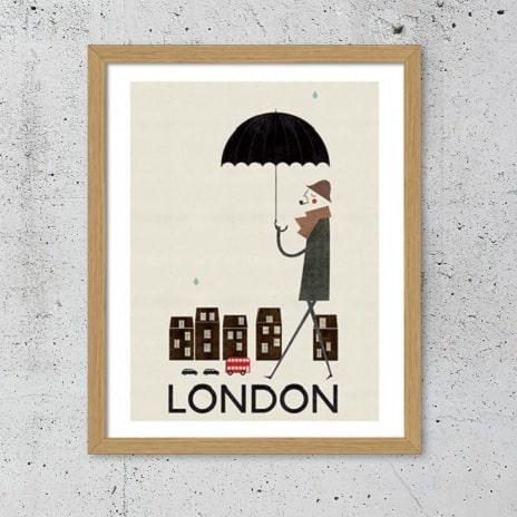 Plakat London thumbnail