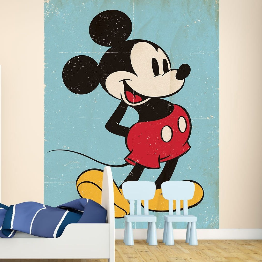 Image of   Fototapet Mickey Mouse