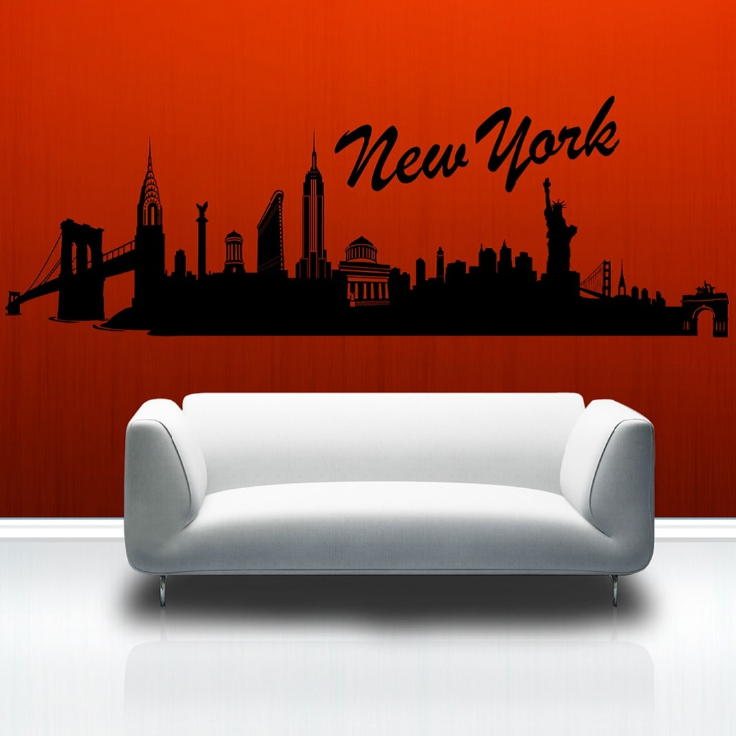 Wallsticker New York skyline
