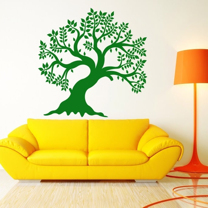 Wallsticker Sommertræ