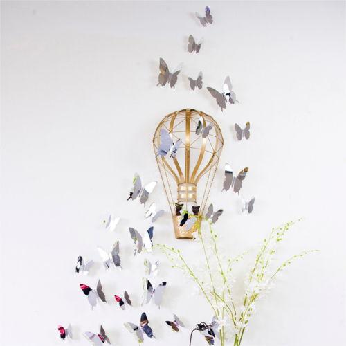 3D Sommerfugle - Med Spejleffekt