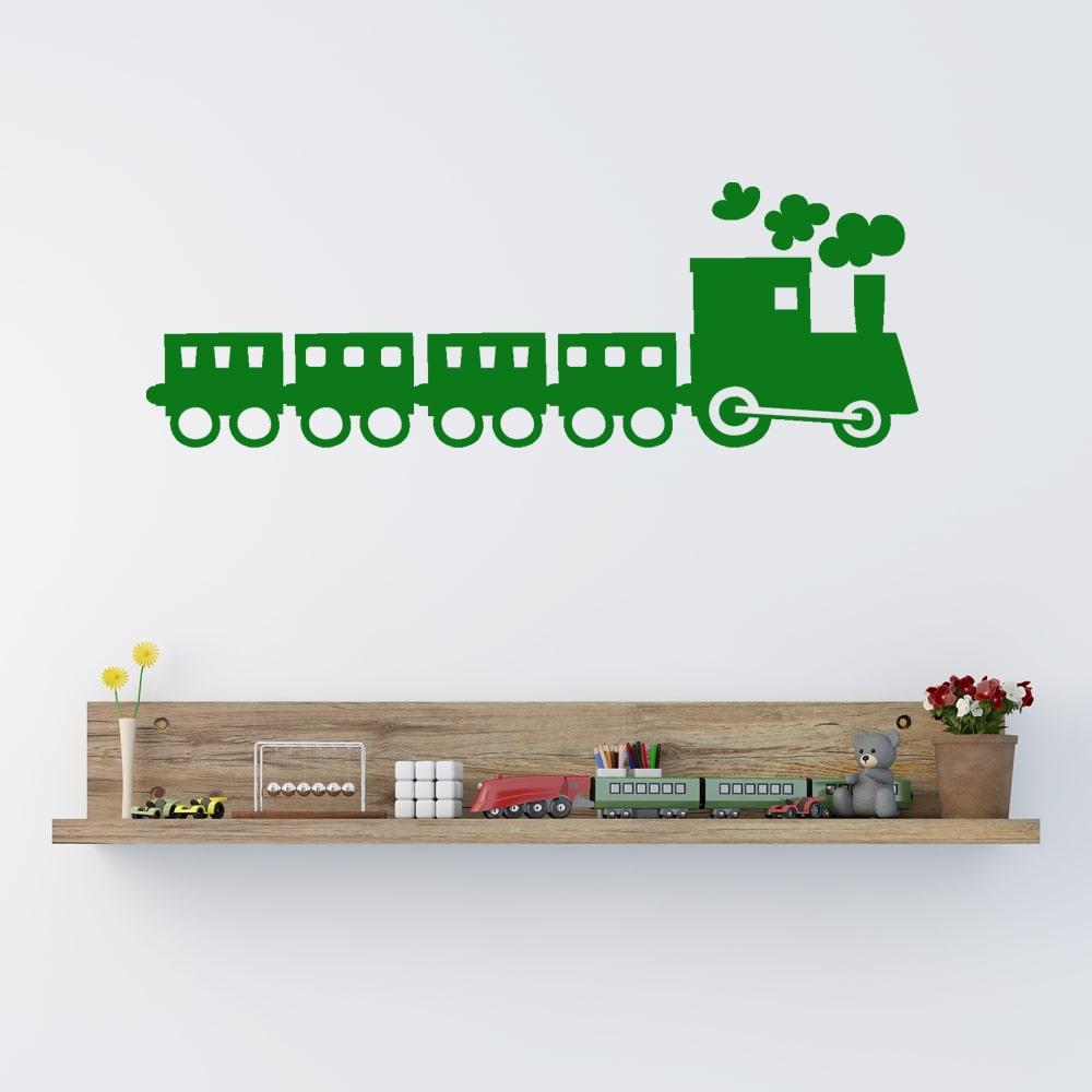 Image of   Wallsticker Tog til børneværelset