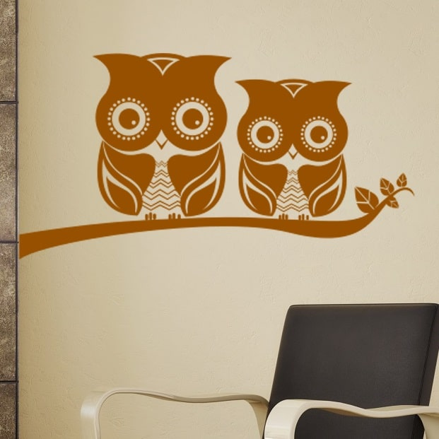 Wallsticker Ugler