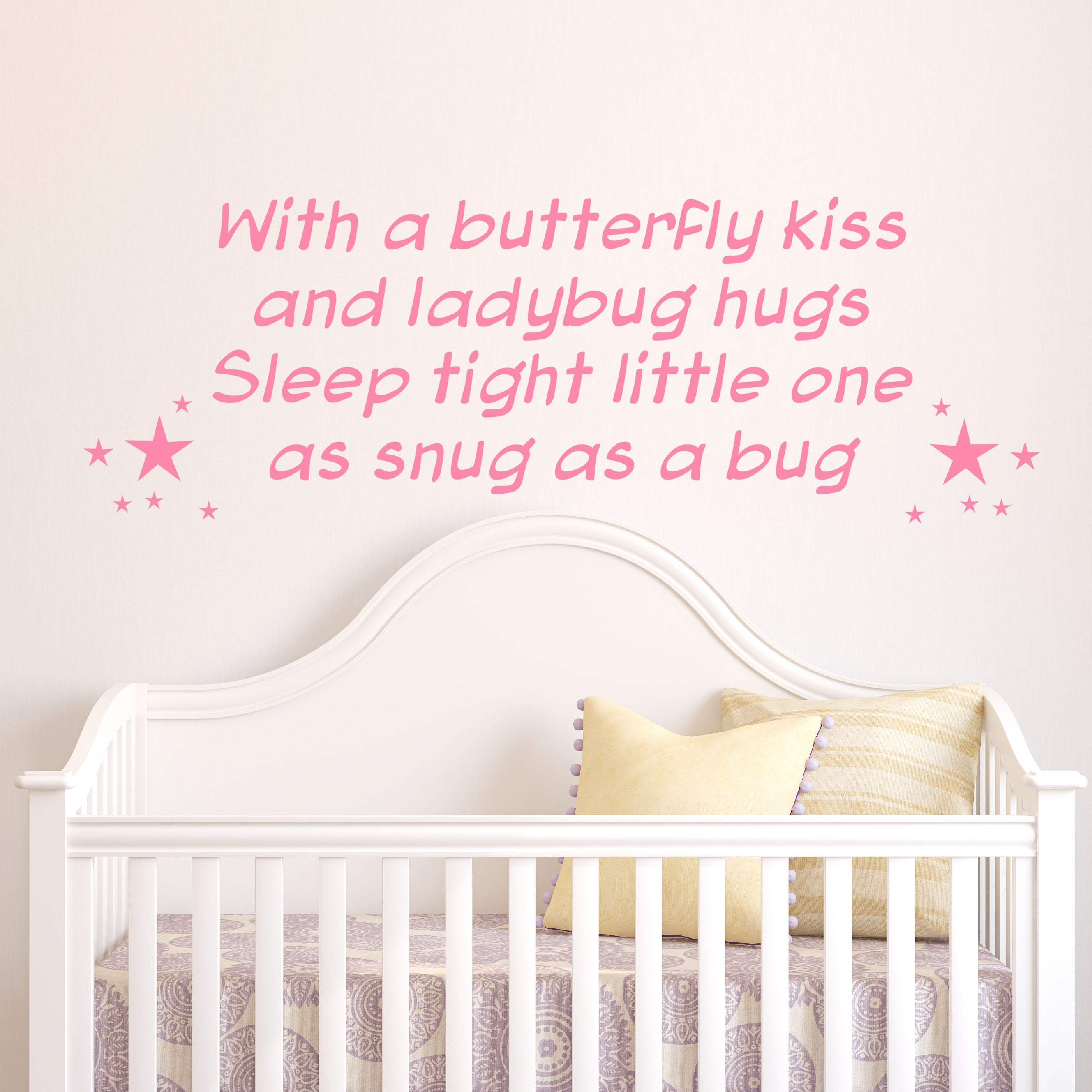 Wallsticker Sleep Tight Little One